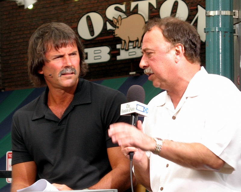 Eck and RemDawg doing the pregame show Monday night...