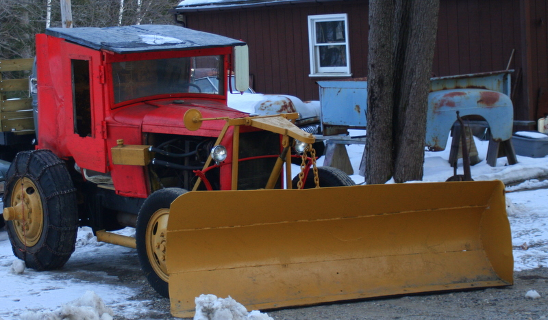 This just might be the cutest plow I've ever seen...