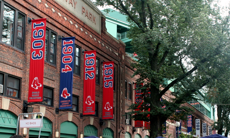 Working towards another banner...  think RED...    Go Sox!