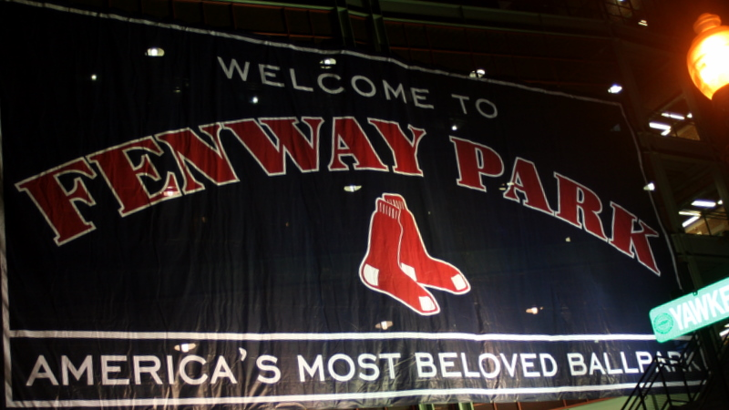Taking it back home to America's most Beloved Ballpark - Go Sox!!!