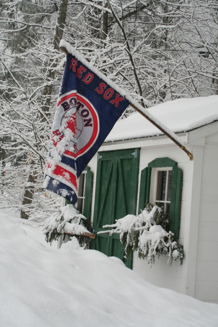 Shouldn't we be done with the snow since the Sox have already opened the 2008 season?
