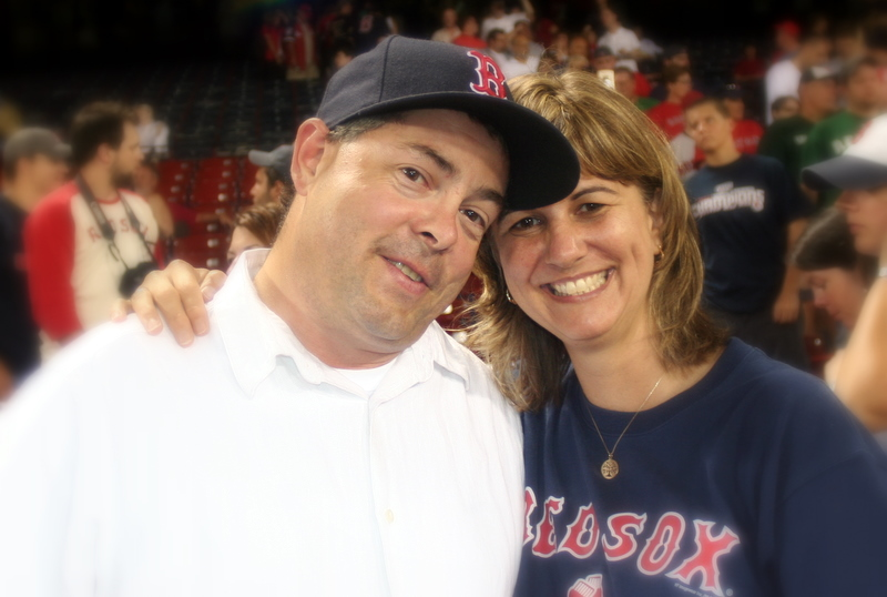 At the Sox game Saturday night...