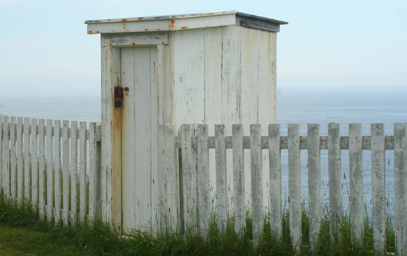 Shed near the lighthouse at Cape Spear