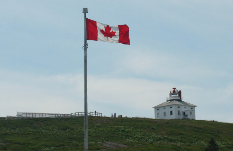 The original (1836) Cape Spear lighthouse