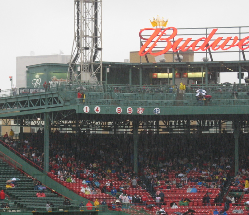 Ready and waiting for Johnny Pesky's 6 to be retired tomorrow...