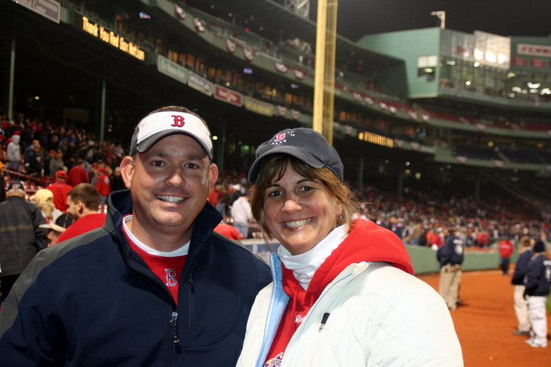 My brother Eric and I after last night's ALDS game... so much for the sweep...