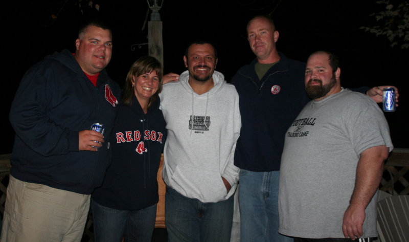 Me and my former RD boys... and Brian Daubach