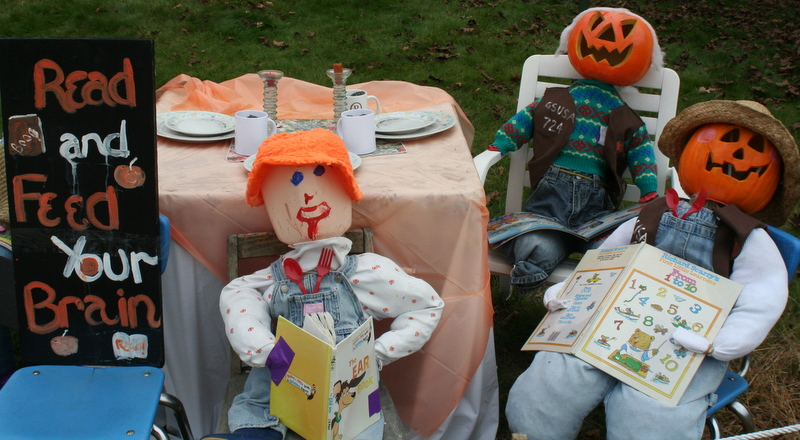 More scarecrows from Scarecrow Alley