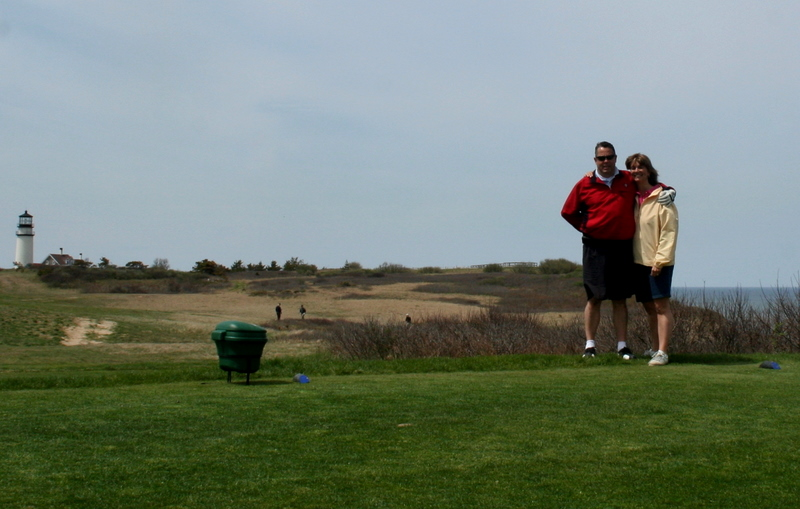 Enjoying a spring day on the Cape yesterday.  Highland Links, Truro, MA