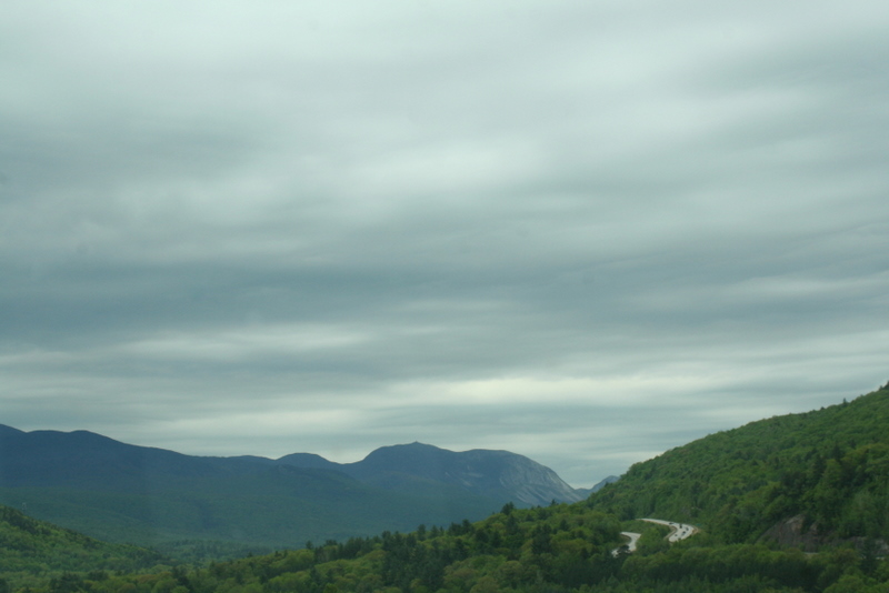 Driving through the White Mountains area...