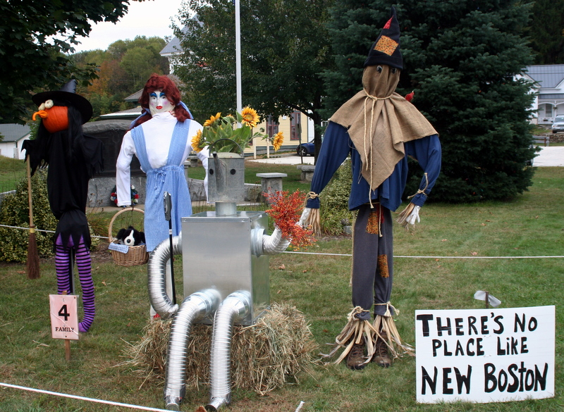 It's Scarecrow Alley time in New Boston; this entry seems to be kissing up a bit...
