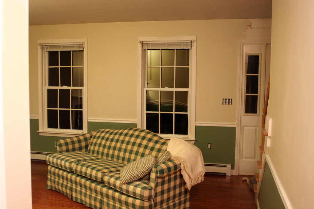Spent all day yesterday painting the living room - still have to do the molding - and the rest of the house...