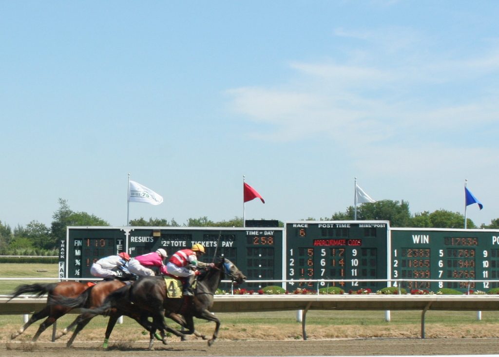 From Monday's races at Suffolk Downs