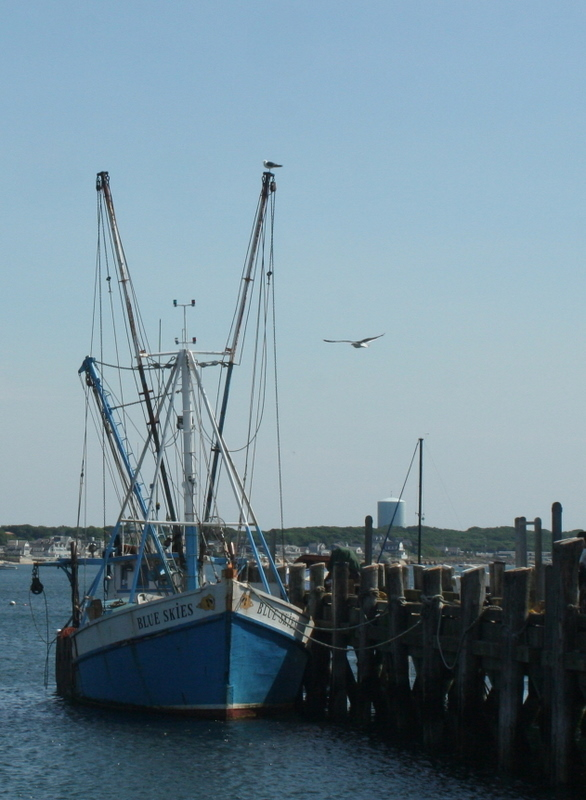 Provincetown fishing boat