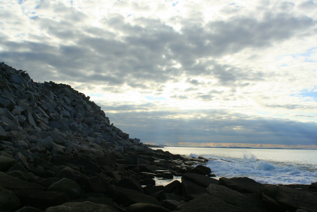 Halibut Point, Rockport MA late yesterday afternoon