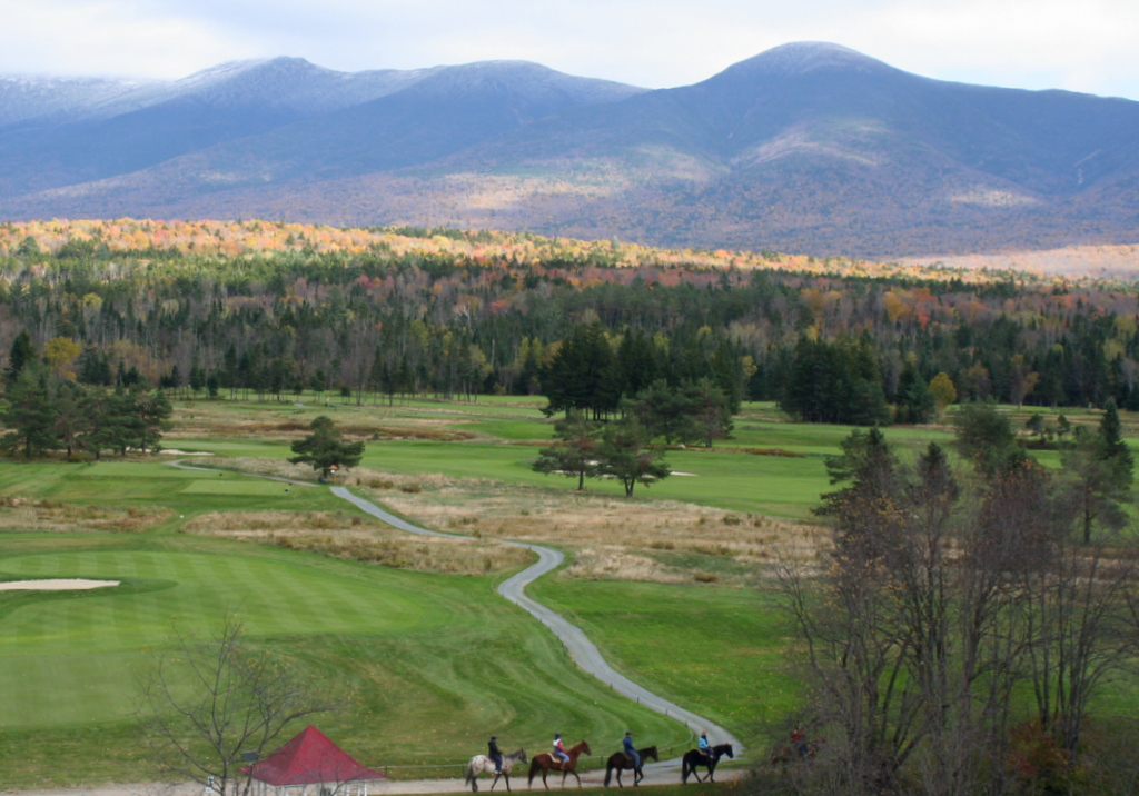 Fall day in the White Mountains