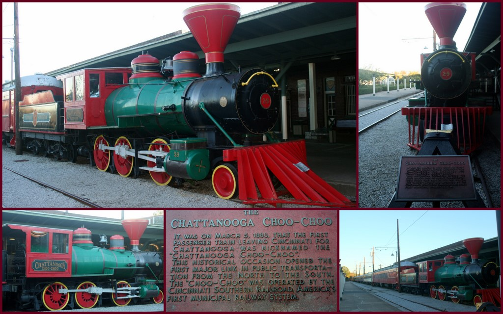 The Chattanooga Choo-Choo!