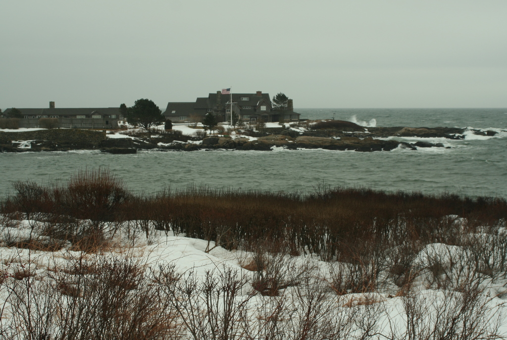Walker's Point, the Bush Estate - Kennebunkport, Maine