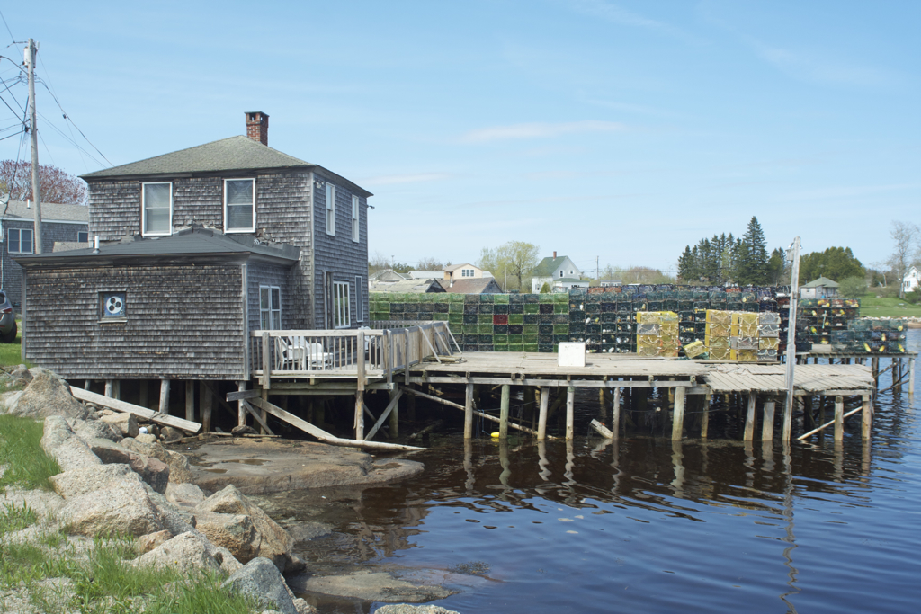The Boathouse in Corea, Maine... home away from home for a week