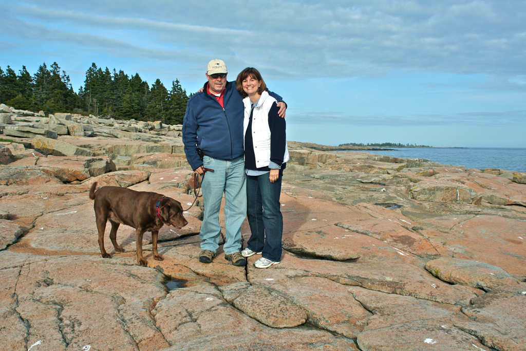 Acadia National Park on the Schoodic Peninsula