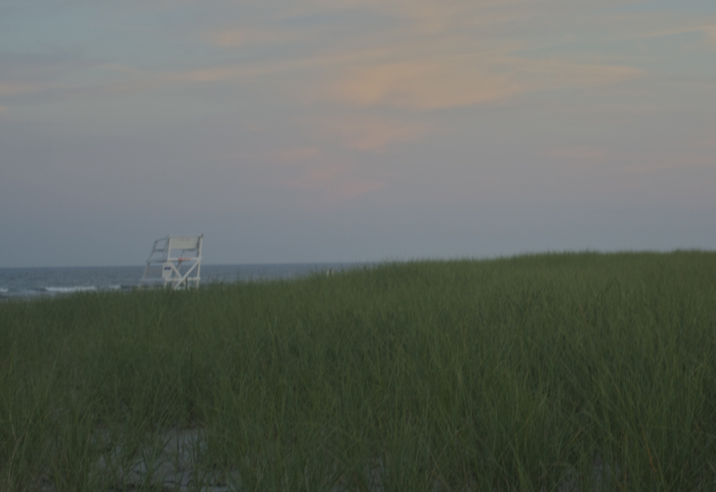 Lifeguard chair at dusk...my favorite time to be at the beach