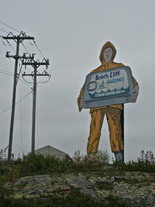 Fisherman still stands guard at the nation's last sardine cannery even though it closed in 2010, Prospect Harbor ME