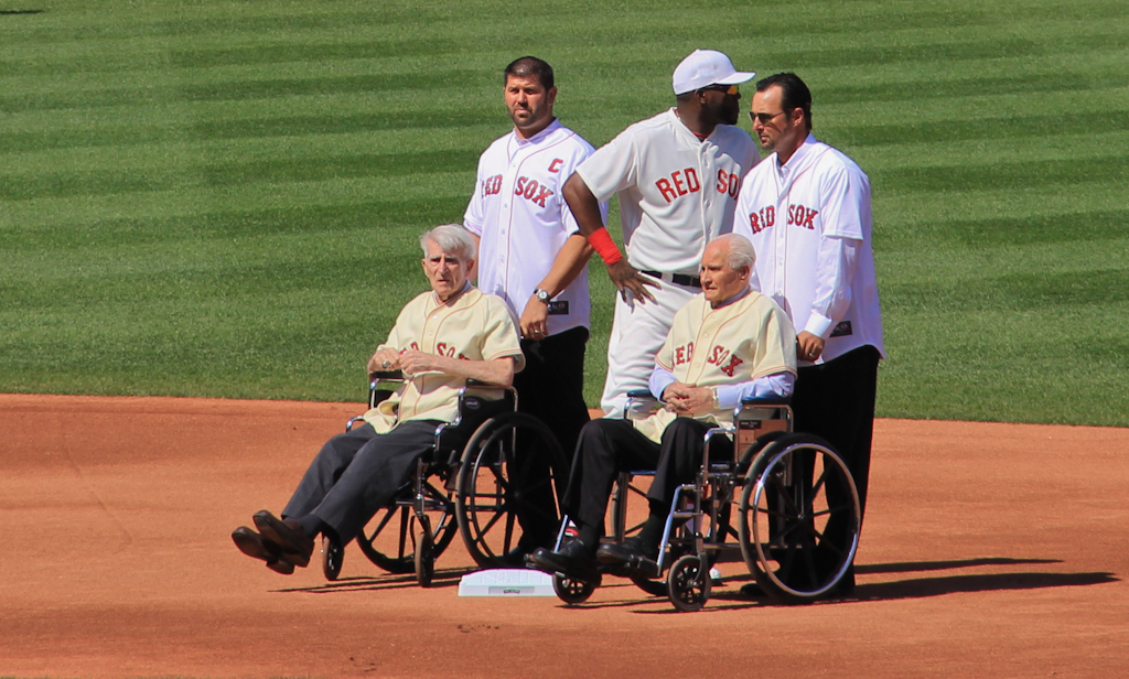 You'll be missed Johnny Pesky... Rest in Peace.