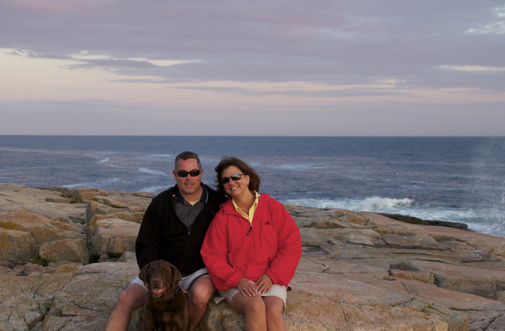 Wish every day could be a Schoodic Point day like while on vacation...