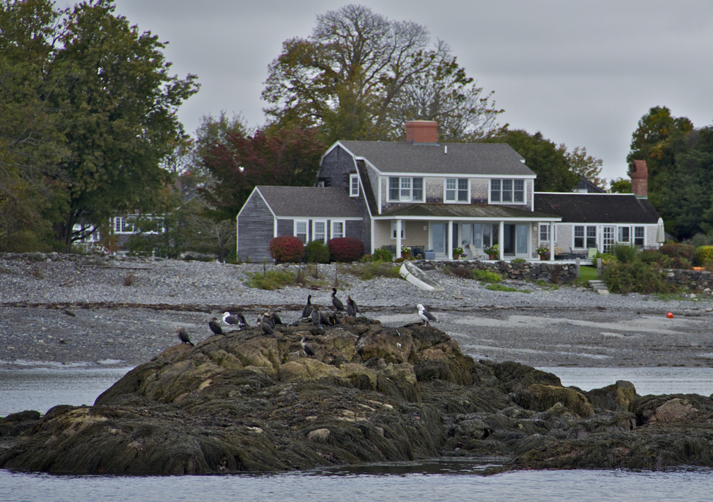 One of the many houses I coveted during our boat tour over the weekend...