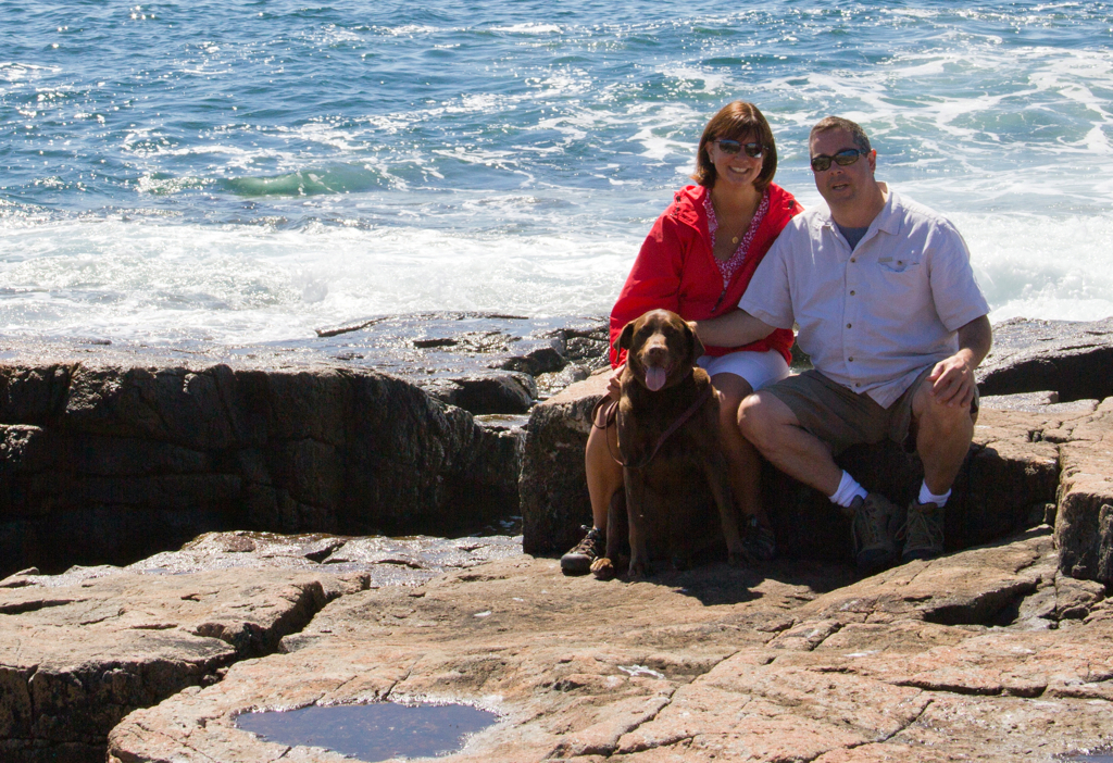 Looking forward to more vacations with Sophie Brown - her biopsy came back cancer free!