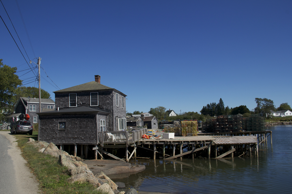 Just reserved a week at the Boathouse in Corea, ME for a week again this summer. Such a unique and relaxing place!