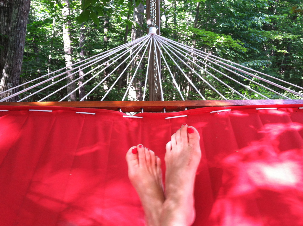 Every day should be a hammock day...