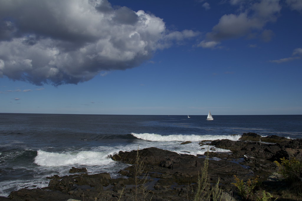 Beautiful day for a walk along the Marginal Way