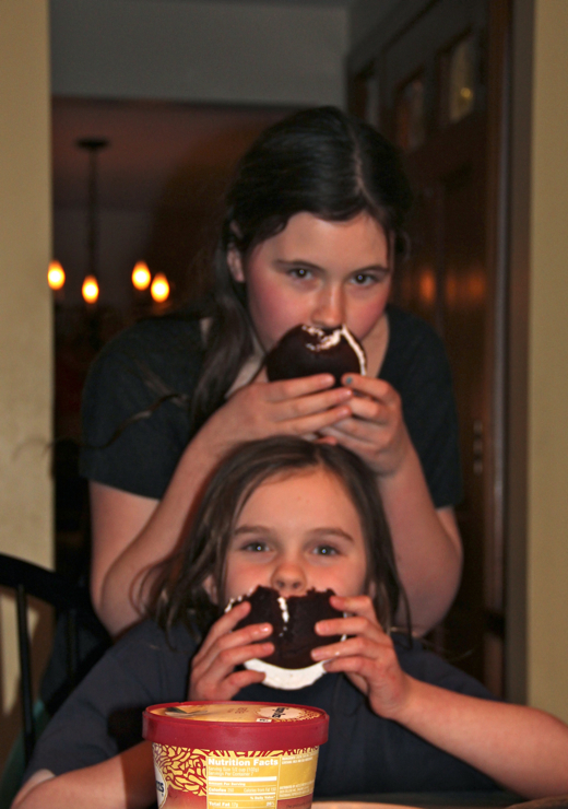 Fun with whoopie pies :)
