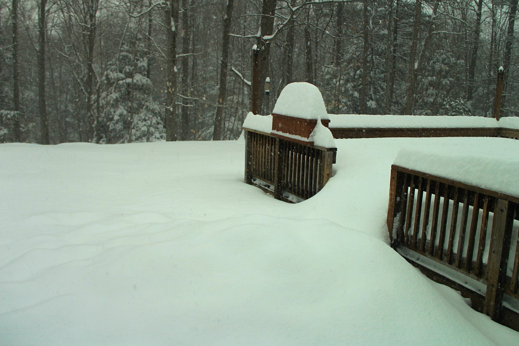 Might be time to shovel the deck...