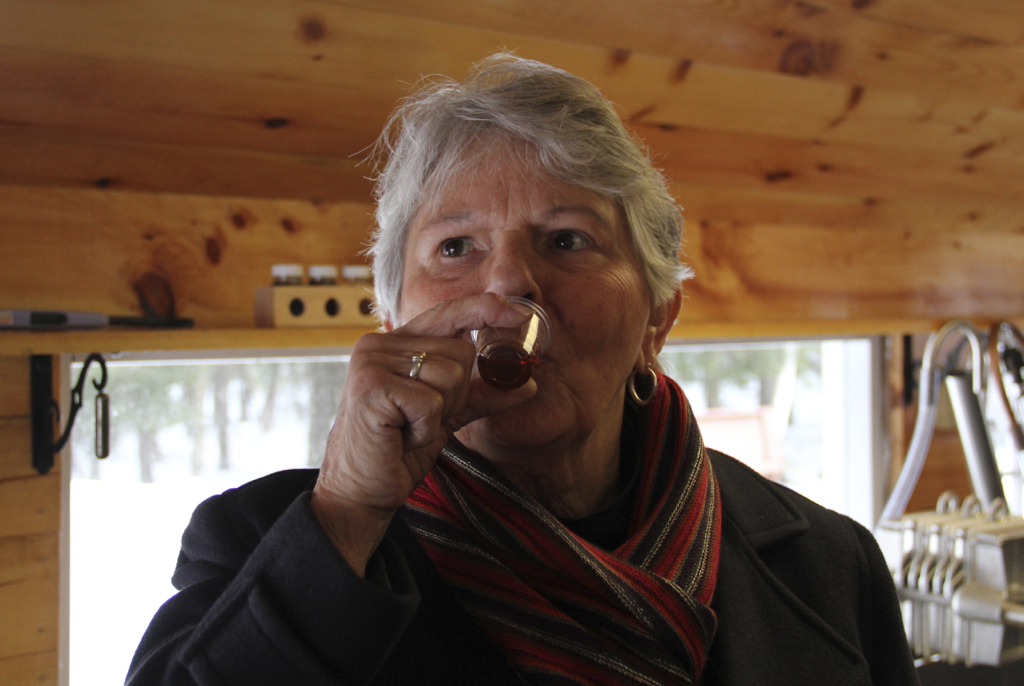 Cheers to you Mom on your Birthday!  Even if it is just maple syrup...