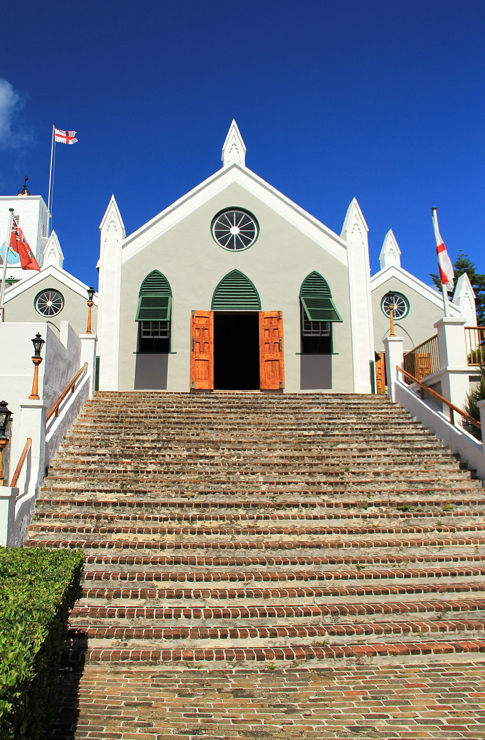 St. Peter's Church in Saint Georges, Bermuda