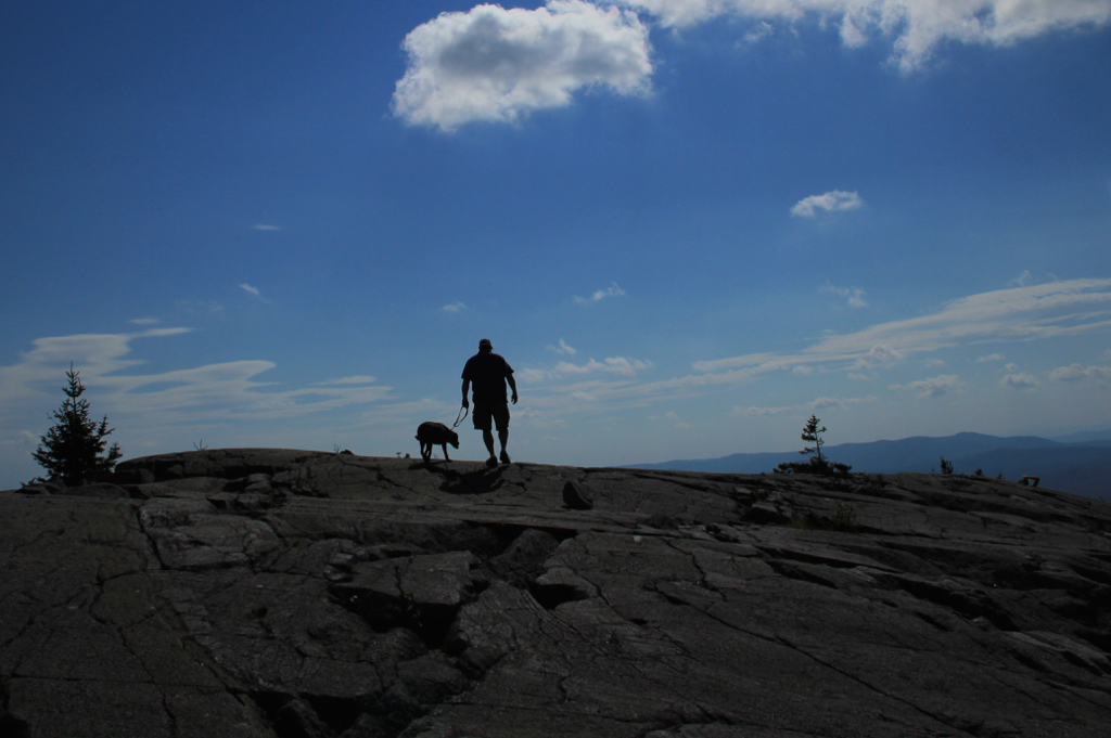Lucy's first Mt. Kearsarge adventure