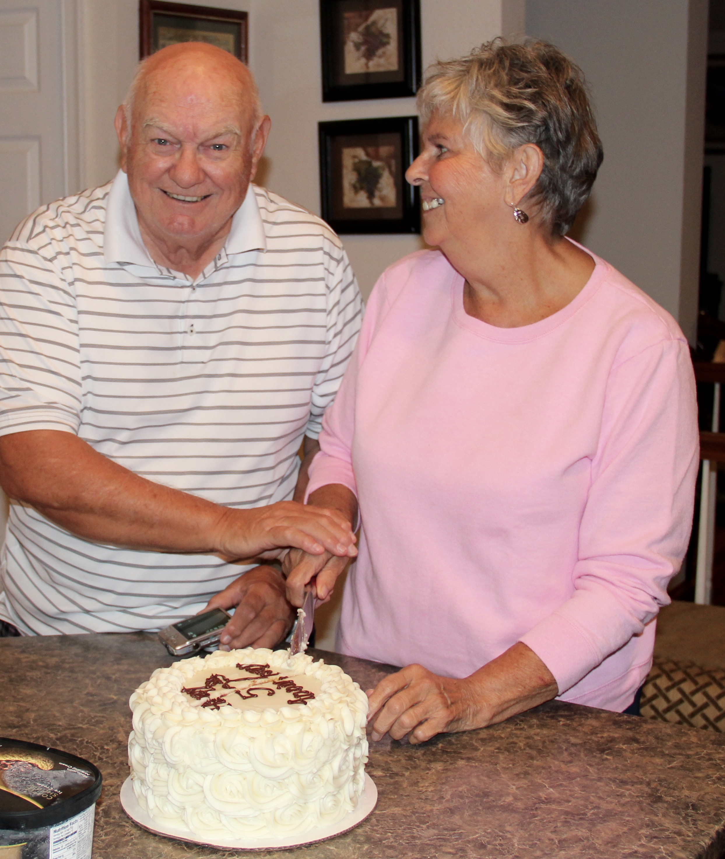 A rememberance of their 50th as they celebrate their 51st - Happy Anniversary Mom & Dad!