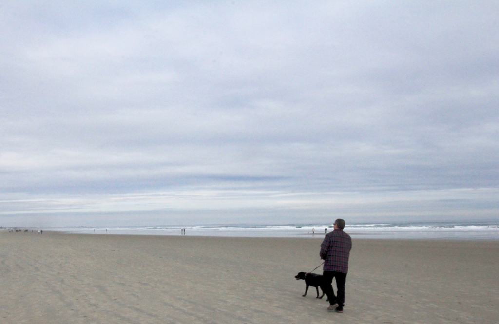 Saturday afternoon walk on Ogunquit Beach