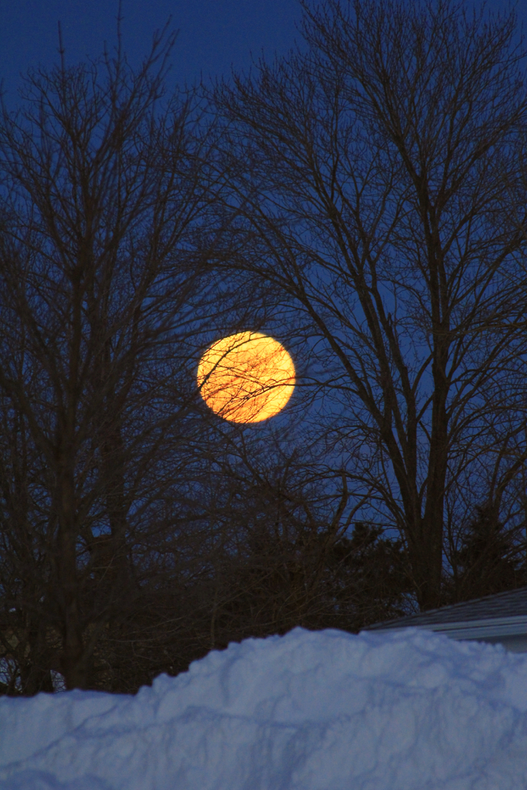 February's full snow moon :)
