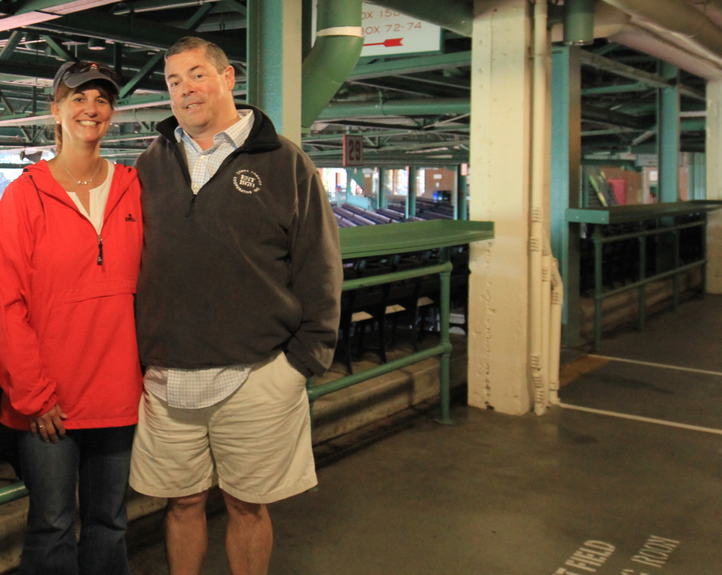 Where we first met at Fenway :)