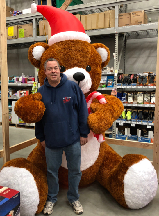 A little holiday bear hug...